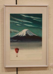11 気 球   富士山