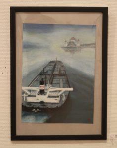 16 日本のタンカー マラッカ海峡