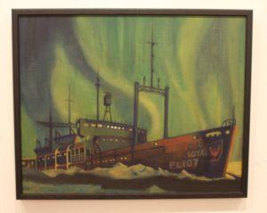 36 極 光(オーロラ) 北極海 宗谷