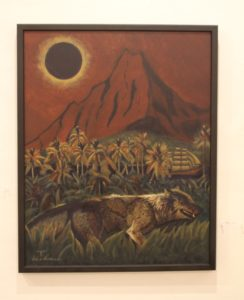 49 皆既日食   タヒチ島